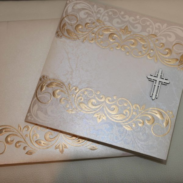 Christian Cards white