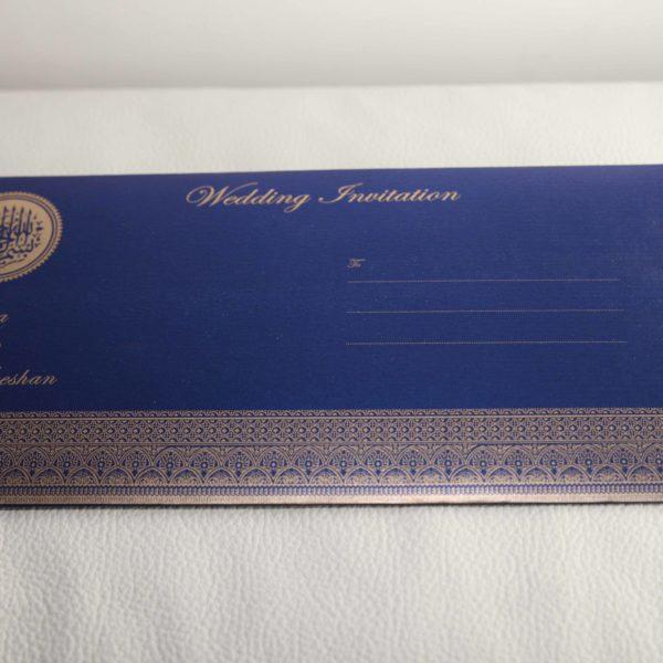 Muslim wedding Cards Blue_02