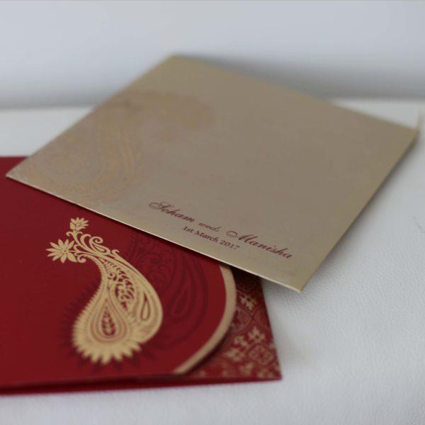 Hindu wedding Cards Red_01