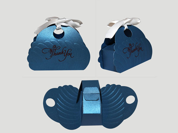 Butterfly Cake box -Blue Color