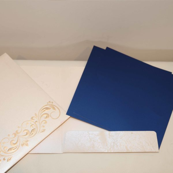 wedding Cards Blue